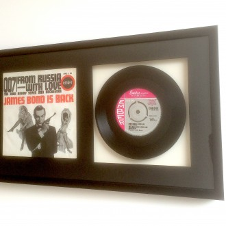 Framing 007 45 record